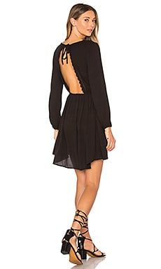 Portia Dress in Black Sands