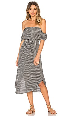 Sheer Bliss Dress in Stripe