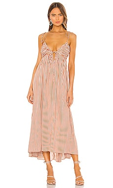 Fern Woven Dress AMUSE SOCIETY $84
