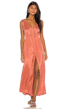 Marlena Woven Maxi Dress AMUSE SOCIETY $51