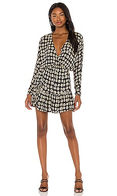 Spellbound Woven Mini Dress AMUSE SOCIETY $70 NEW
