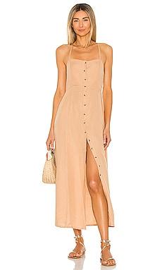 Sahara Woven Maxi Dress AMUSE SOCIETY $90 BEST SELLER