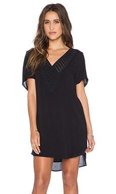 AMUSE SOCIETY Avery Dress in Black Sands