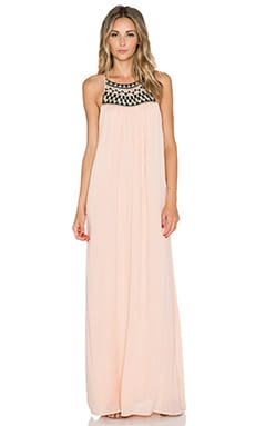AMUSE SOCIETY Lotus Dress in Blush
