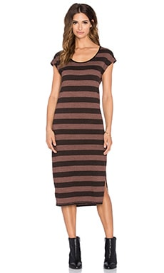 Meteor Dress in Mocha Heather