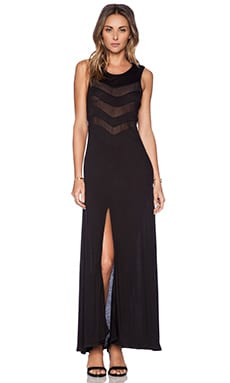 AMUSE SOCIETY Journey Maxi Dress in Black