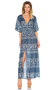 AMUSE SOCIETY Cina Dress in Indy Blue