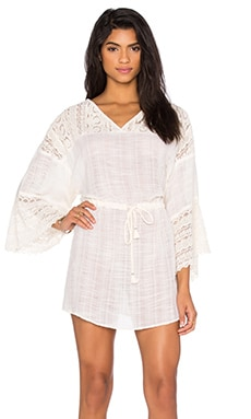 AMUSE SOCIETY Amara Dress in Souk White