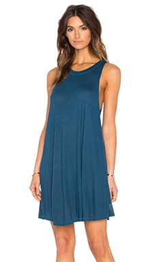 AMUSE SOCIETY Alexi Mini Dress in Indy Blue
