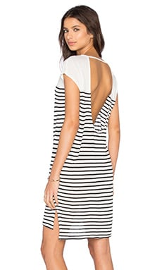 Jessi Mini Dress in Stripe