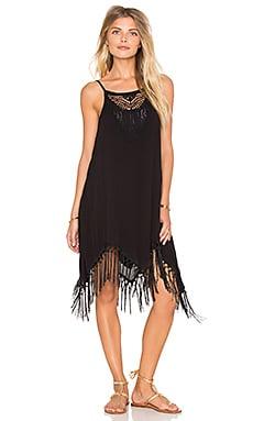 AMUSE SOCIETY Lilah Mini Dress in Black Sands