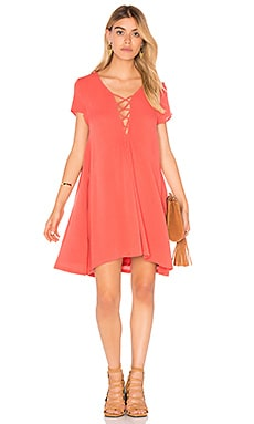 AMUSE SOCIETY Ludlow Dress in Salsa Red
