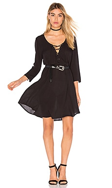 AMUSE SOCIETY Addyson Dress in Black