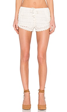 AMUSE SOCIETY Chelle Short in Souk White