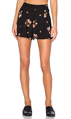 AMUSE SOCIETY Minx Short in Black Sands