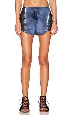 AMUSE SOCIETY Knox Short in Faded Indigo