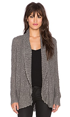 Violett Cardigan in Slate Heather