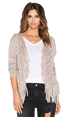 AMUSE SOCIETY Jadyn Cardigan in Light Grey