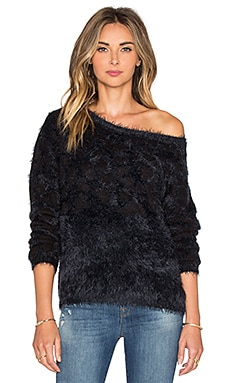 AMUSE SOCIETY Banks Sweater in Black Sands