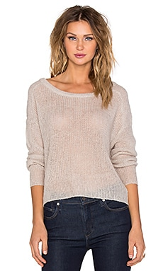 AMUSE SOCIETY Drifter Sweater in Light Grey
