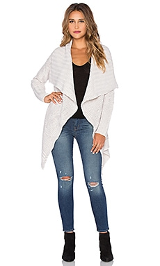 AMUSE SOCIETY Teller Cardigan in Souk White