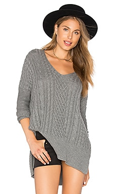 Lauryn Sweater in Heather Grey