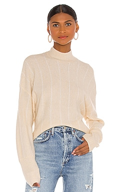 Aline Long Sleeve Knit Sweater AMUSE SOCIETY $70 BEST SELLER