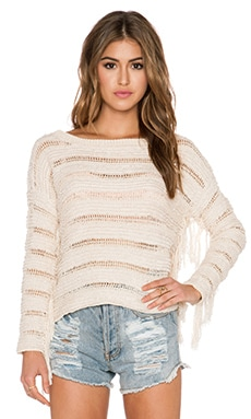 AMUSE SOCIETY Keiara Sweater in Shell
