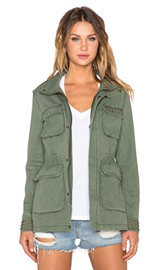 AMUSE SOCIETY Tatum Jacket in Olive