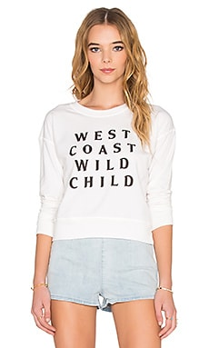 West Coast Wild Sweatshirt in Casa Blanca