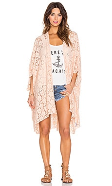 AMUSE SOCIETY Behati Kimono in Peach