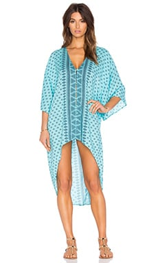 AMUSE SOCIETY Lex Woven Tunic in Ocean