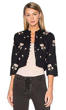 Arcadia Jacket em Black Sands