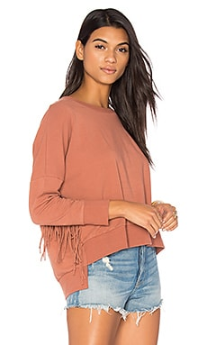 Emma Fleece Sweatshirt en Tobacco