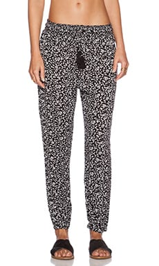AMUSE SOCIETY Melody Pant in Black Sands