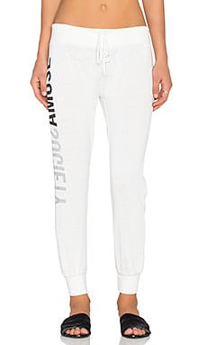 AMUSE SOCIETY Society Sweatpant in Casa Blanca