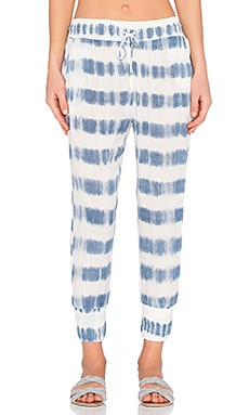 Coco Pant in Indy Blue