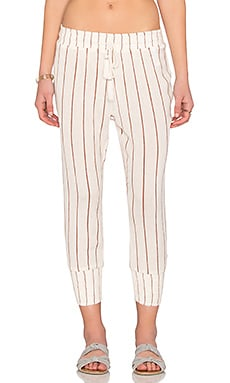 AMUSE SOCIETY St. Tropez Pant in Moccasin