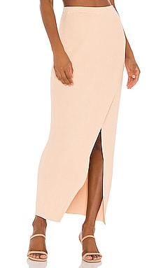 Mona Knit Maxi Skirt AMUSE SOCIETY $70