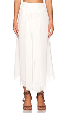 AMUSE SOCIETY Cece Skirt in Shell