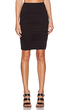 AMUSE SOCIETY Nellie Skirt in Black Sands