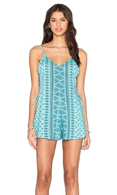 AMUSE SOCIETY June Romper in Ocean