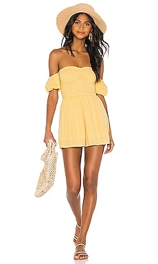 Sunset Surf Mini Romper AMUSE SOCIETY $58