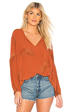 Clear Skies Woven Top AMUSE SOCIETY $83