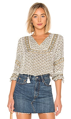 Lakefront Woven Top AMUSE SOCIETY $47