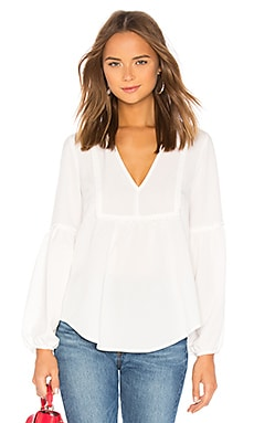 Stood Up Woven Top AMUSE SOCIETY $54