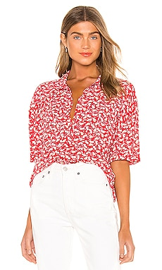 Miaou Short Sleeve Blouse AMUSE SOCIETY $54 BEST SELLER