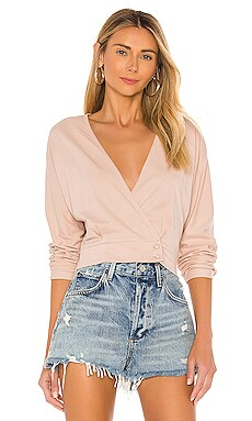 Shandie Long Sleeve Knit Top AMUSE SOCIETY $40