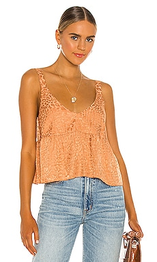 Carly Woven Tank AMUSE SOCIETY $56 BEST SELLER