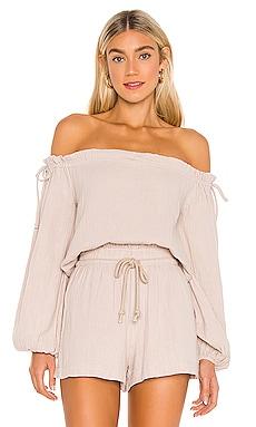 Roya Long Sleeve Woven Top AMUSE SOCIETY $54 NUEVO
